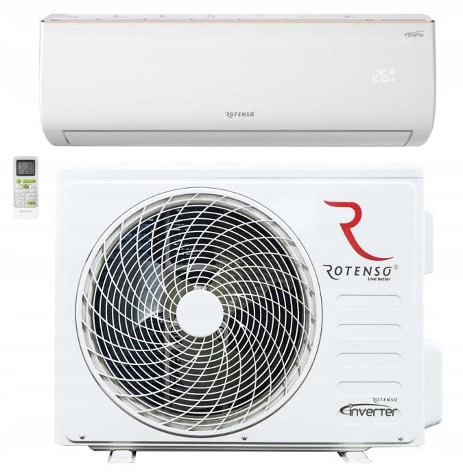 biały klimatyzator i montaż klimatyzacji